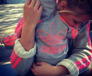 adidas, baby, and pink image