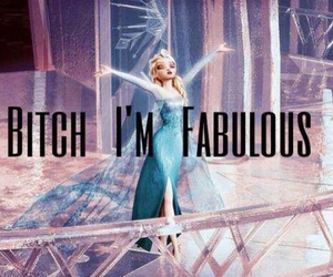 frozen, fabulous, and elsa image