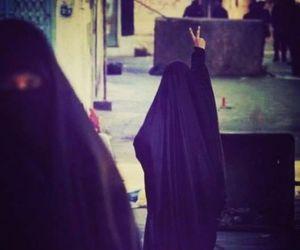 islam, muslim, and hijab image