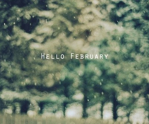february, winter, and month image