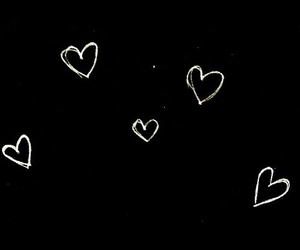 overlay, hearts, and transparent image