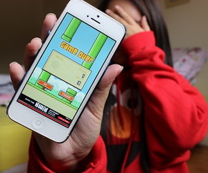 flappy bird, game, and tumblr image