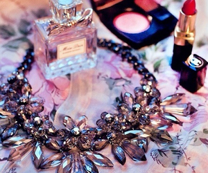 chanel, necklace, and perfume image