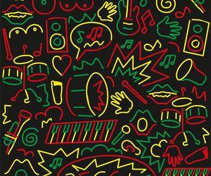 drum, peace, and reggae image