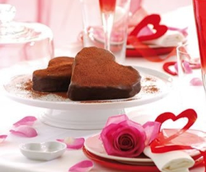 brownies, champaign, and chocolate image