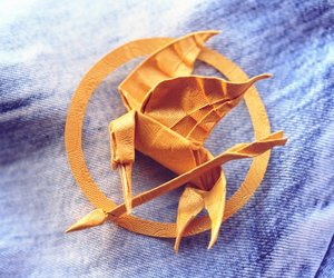 origami, katniss, and hunger games image