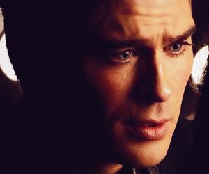 beautiful, damon salvatore, and eyes image