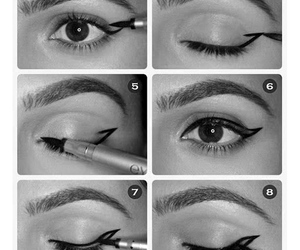 eye, eye liner, and how to image