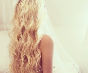 blonde, hair, and girl image