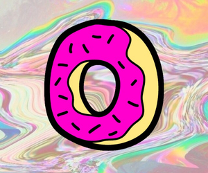 cool, donuts, and edit image