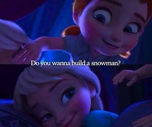 frozen, snow, and girl image