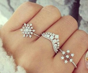 accessories, lovely, and snowflake image