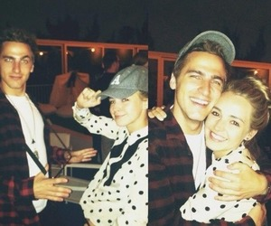 katelyn tarver, kendall schmidt, and big time rush image