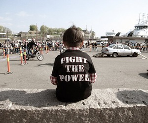 adorable, boy, and fight the power image