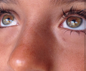 brown, girl, and eyes image