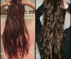 cheveux, lisse, and long image