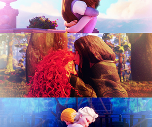 brave, frozen, and disney image