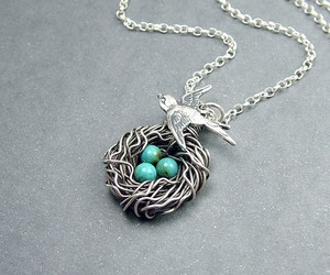 necklace, accessories, and bird image