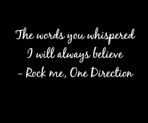 Lyrics, quotes, and one direction image