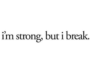 strong, break, and quote image