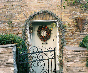 vintage, photography, and door image
