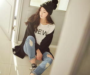 fashion, korean, and clothes image