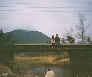 boy and girl, couple, and hipster image