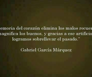 gabriel garcia marquez, corazon, and frases image