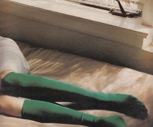 emerald, green, and socks image