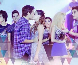 violetta, kiss, and jorge blanco image