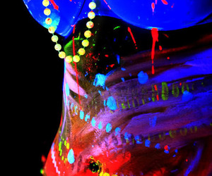 neon, party, and bra image