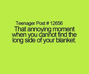 teenager post and blanket image