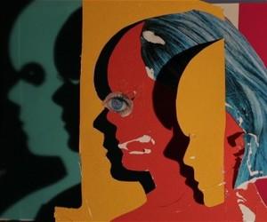 art, Collage, and daniel gordon image