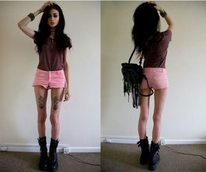 skinny, tattoo, and felice fawn image
