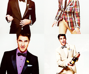 glee, blaine anderson, and darren criss image