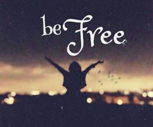 be, black, and free image