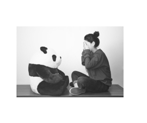 白黒 and パンダ image