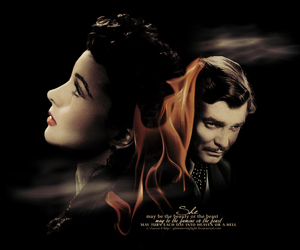 clark gable, Gone with the Wind, and Rhett Butler image