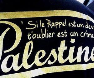 palestine, algérienne de sang, and palestinienne de coeur image