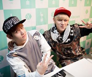 exo, tao, and baekhyun image