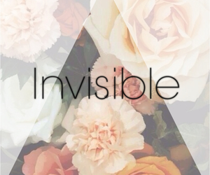 flowers and invisible image