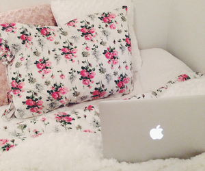 apple, chill, and flowers image