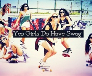 girl, swag, and cool image