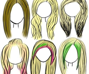 hair, Avril Lavigne, and Avril image