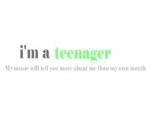 music, describes me, and teenager image