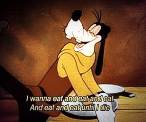 eat, food, and goofy image