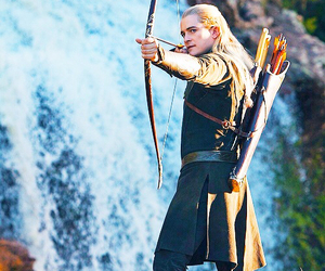 Legolas, orlando bloom, and the hobbit image