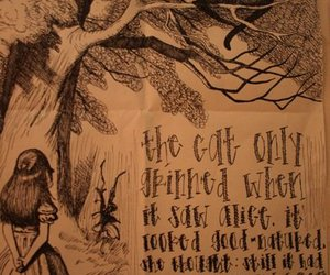alice in wonderland and drawing image