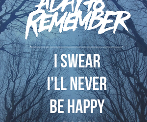 band, a day to remember, and music image
