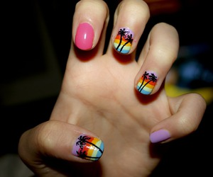 nails and separate with comma image